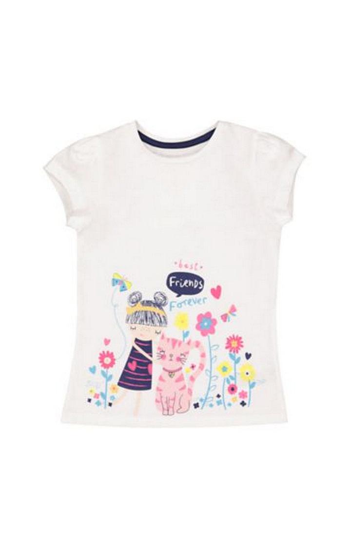 Mothercare   Best Friends Border T-Shirt