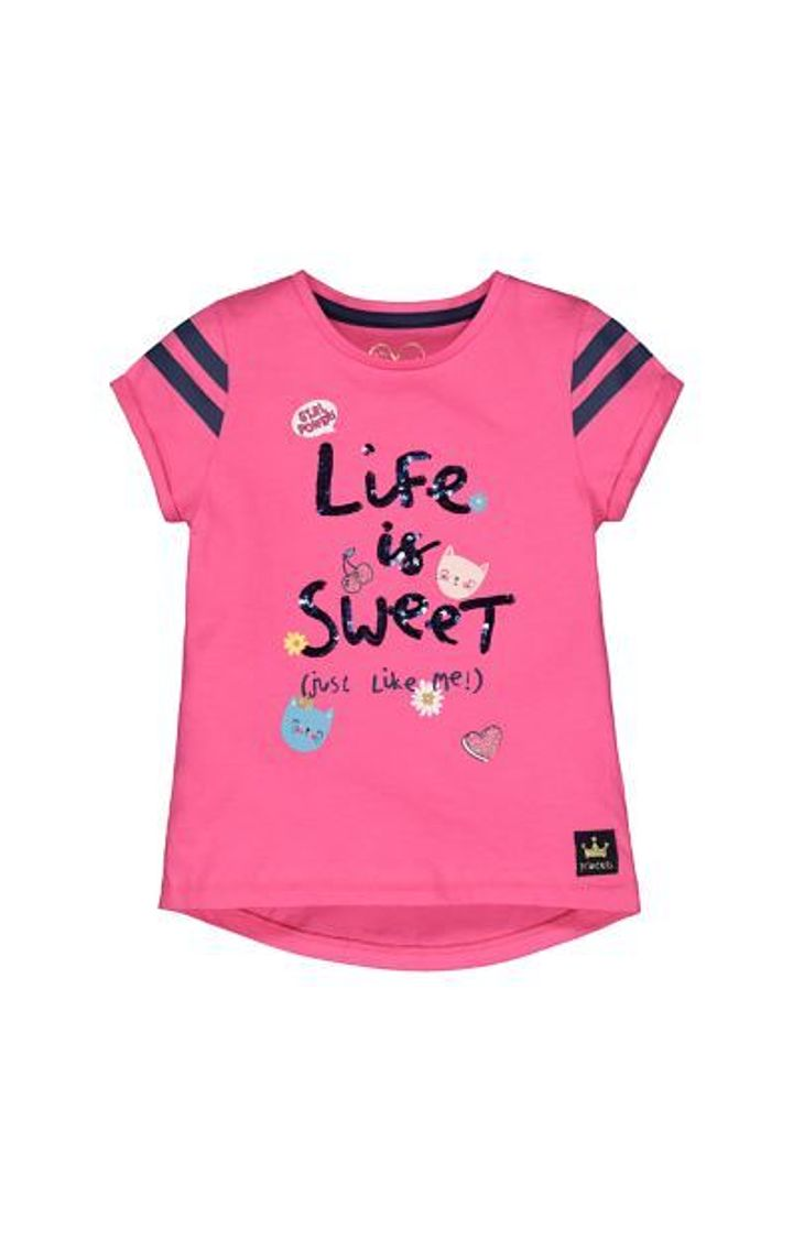 Mothercare   Pink Life Is Sweet T-Shirt