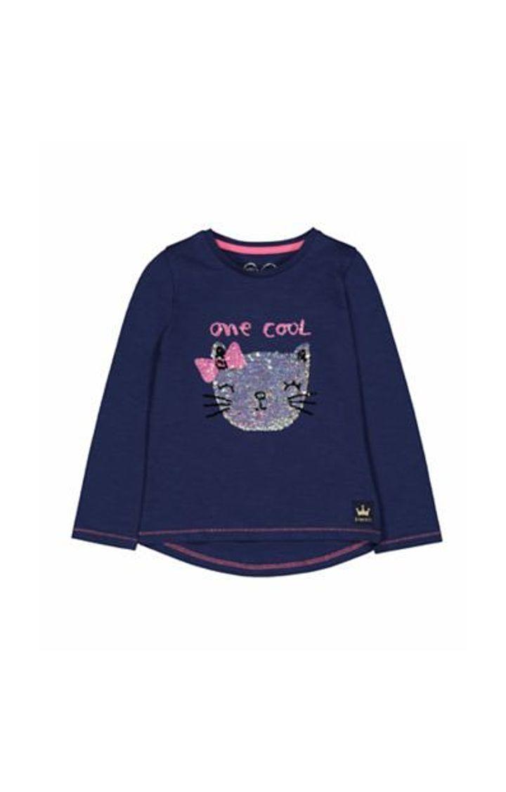 Mothercare   Navy Cool Cat T-Shirt