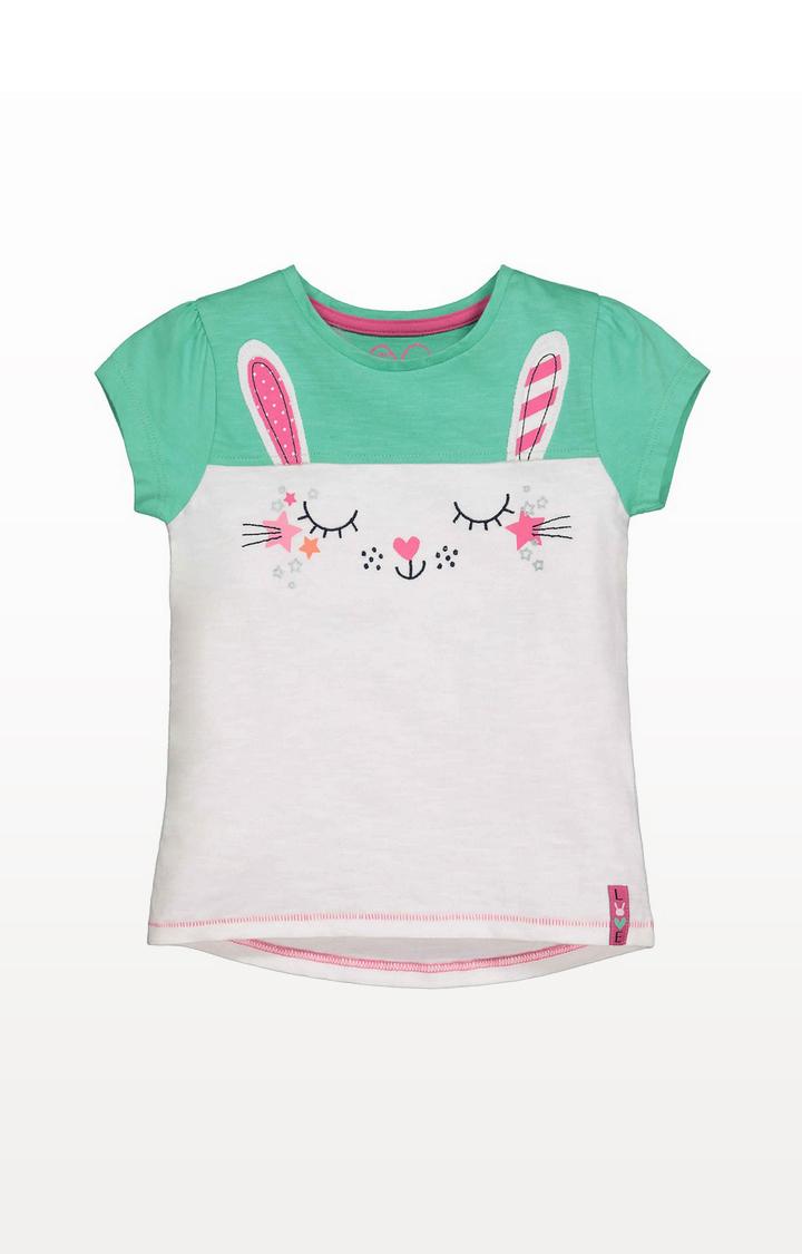 Mothercare | Green Bunny T-Shirt