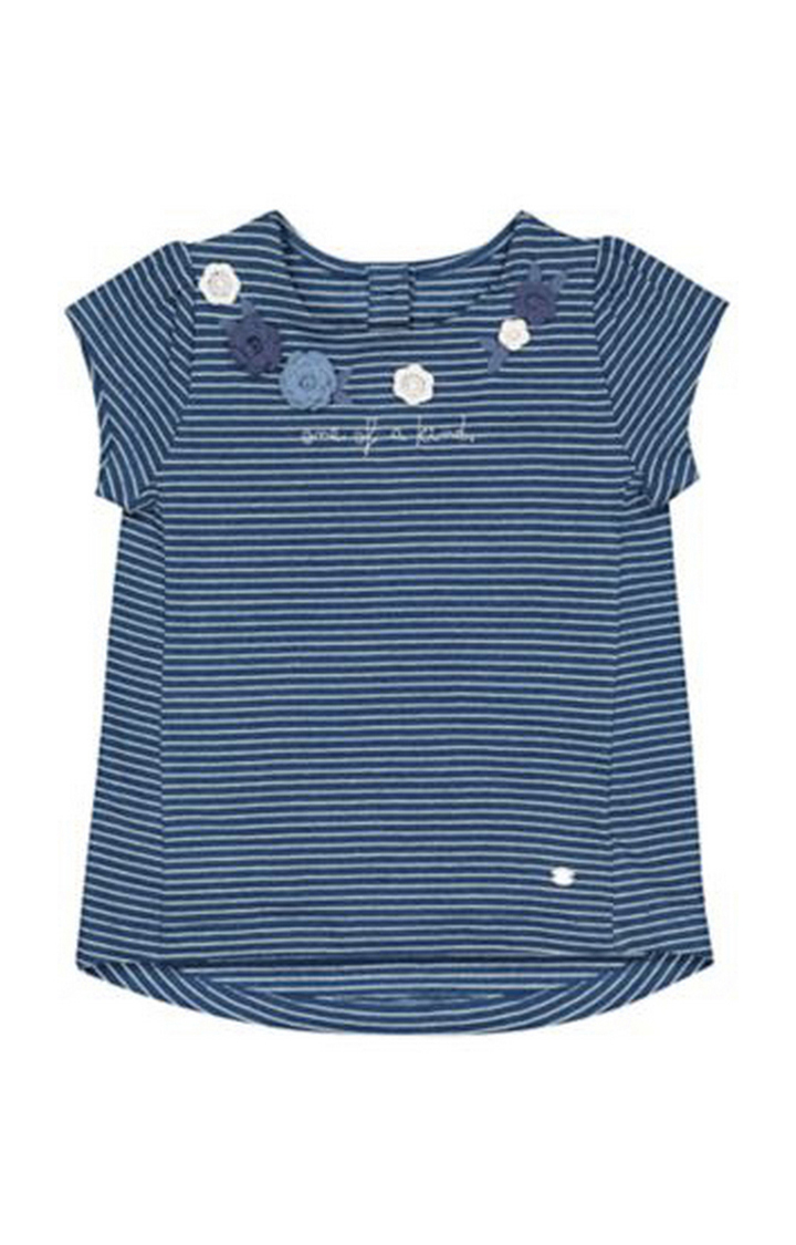 Mothercare | Blue One Of A Kind Stripe T-Shirt