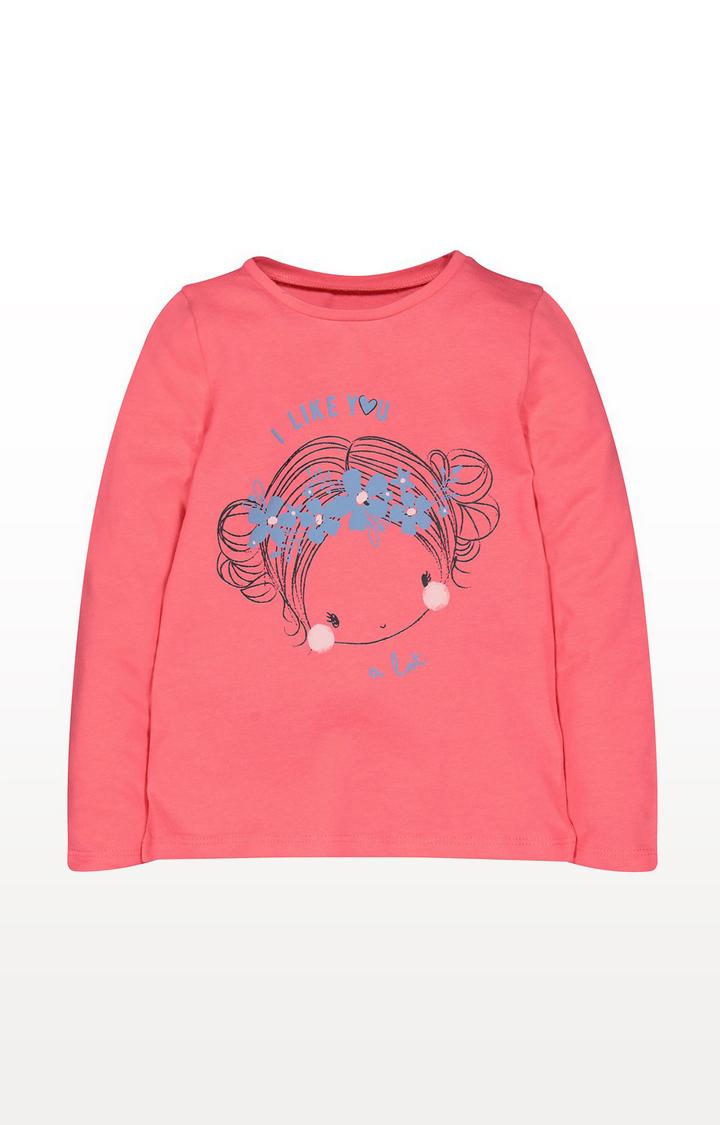 Mothercare | Coral Girl T-Shirt