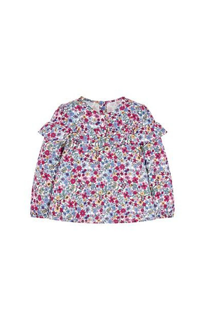 Mothercare | Floral Frill Blouse