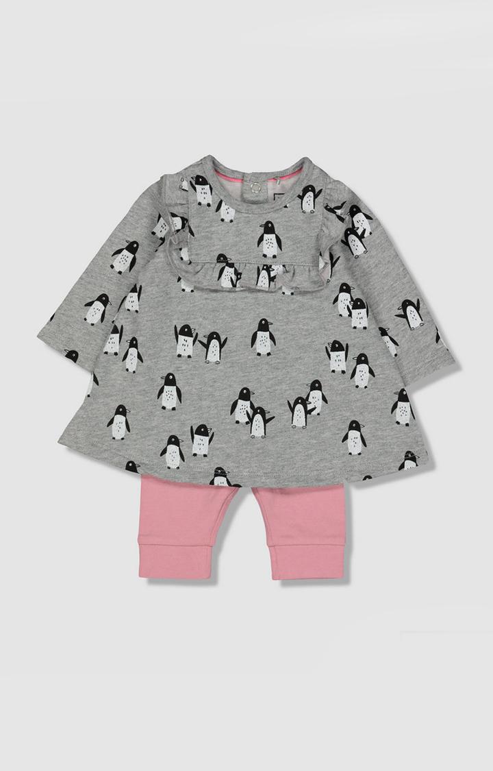 Mothercare | My K Penguin Dress And Leggings Set