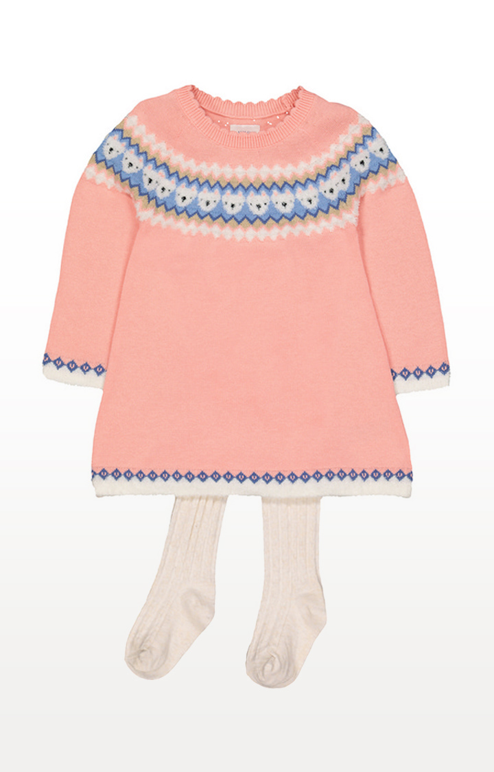Mothercare | Pink Knitted Dress