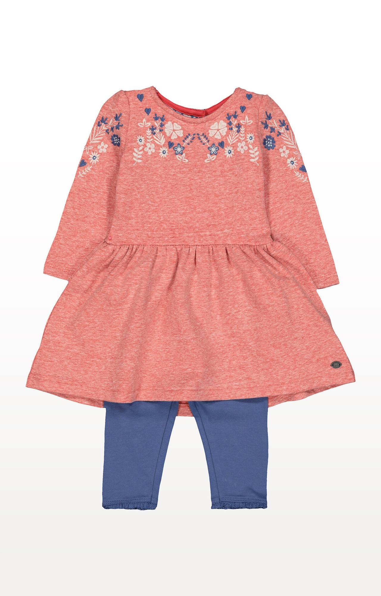 Mothercare | Pink Floral Tunic and Leggings Set