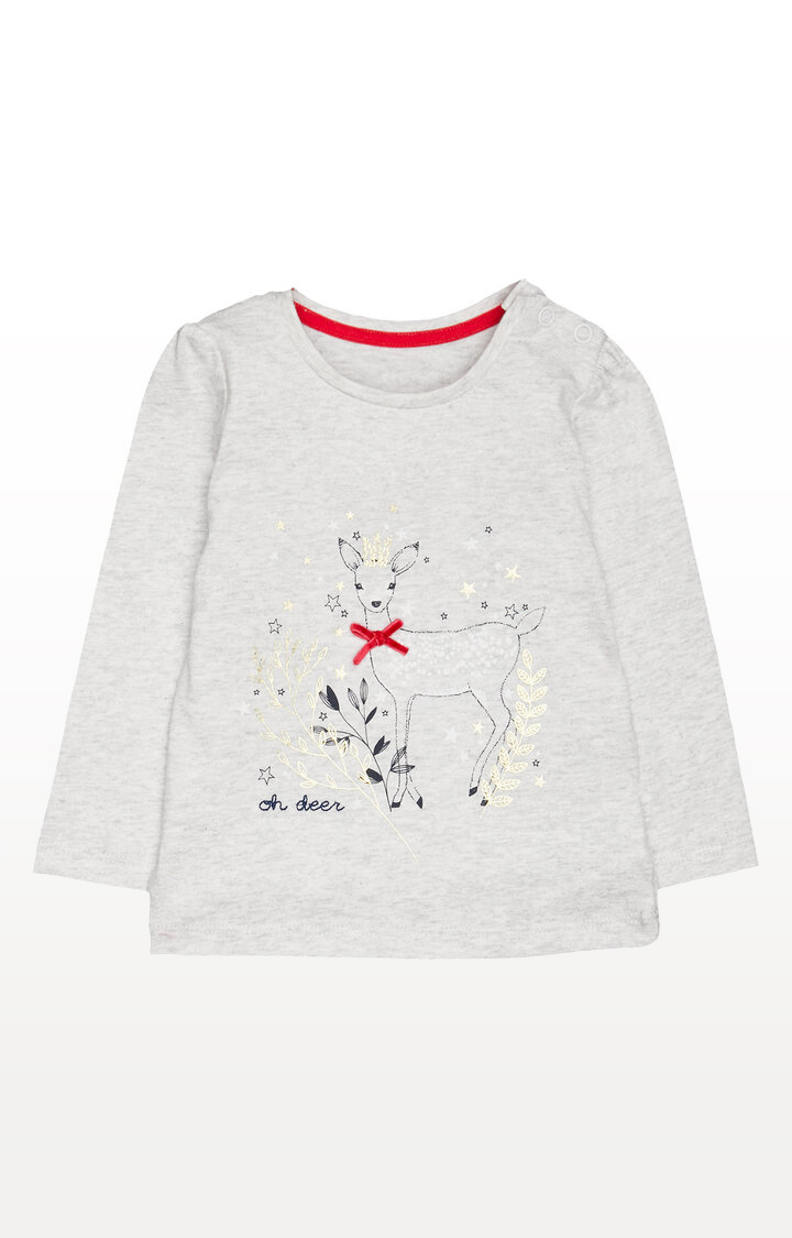 Mothercare | Heritage Grey Deer T-Shirt