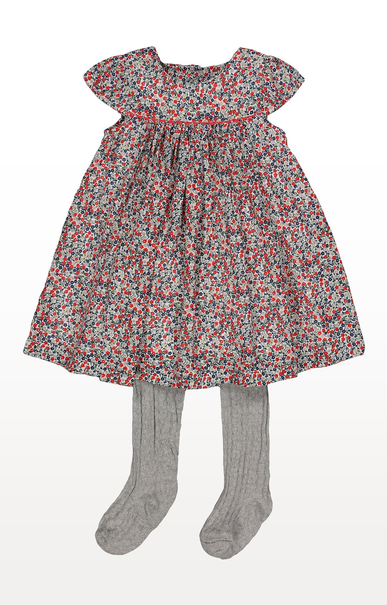 Mothercare | Flower Dress and Tights