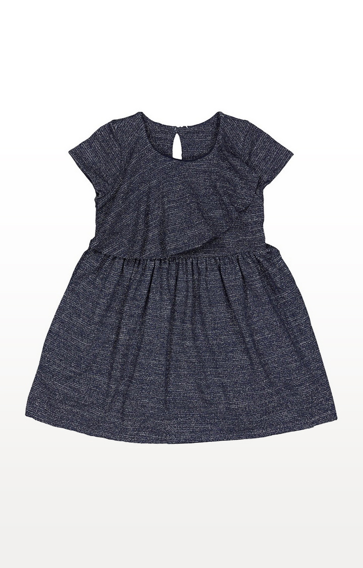 Mothercare | Blue Silver Sparkly Dress