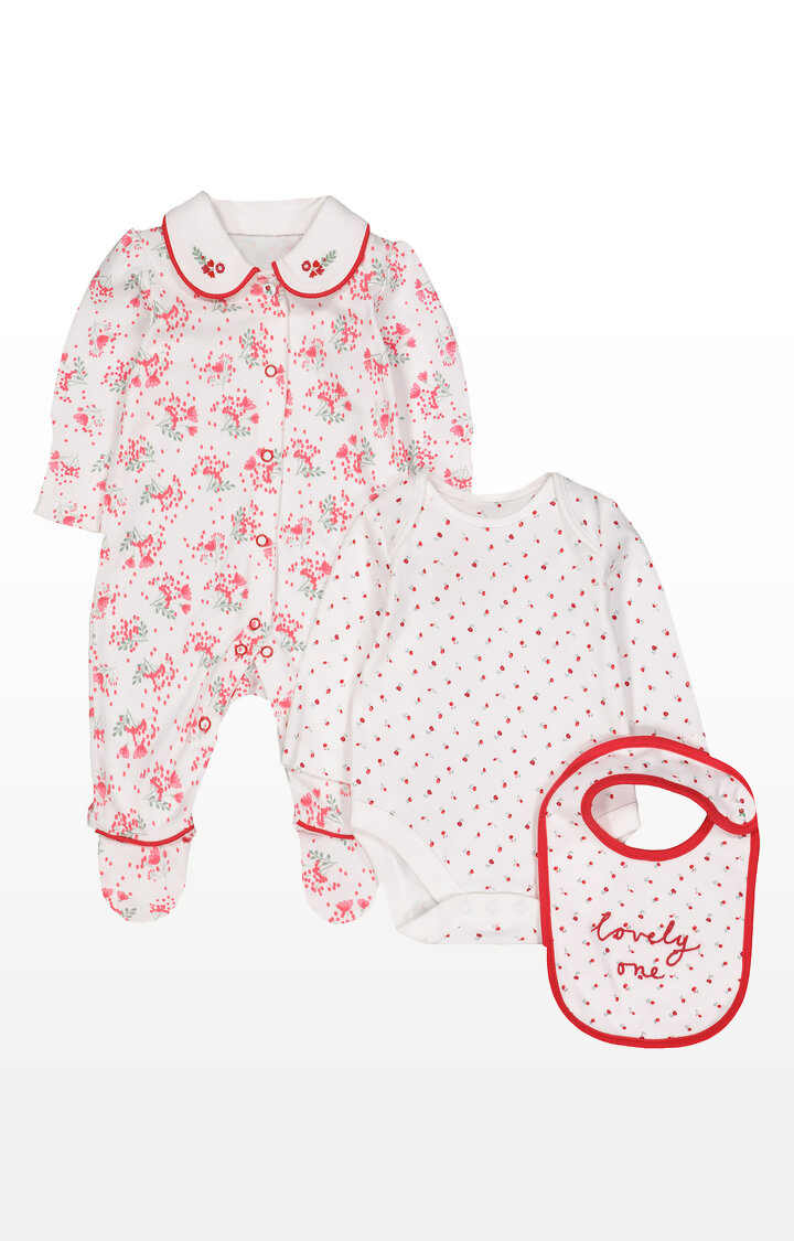 Mothercare | Red Berry 3 Piece Set