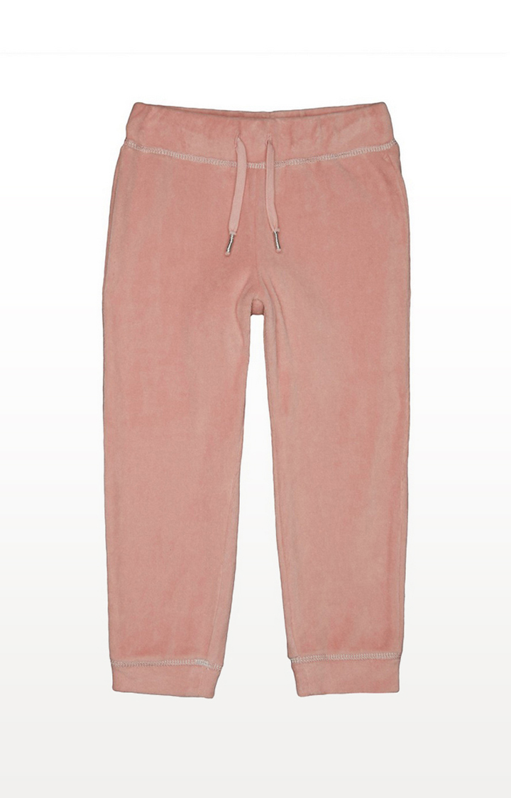 Mothercare | Pink Velour Joggers