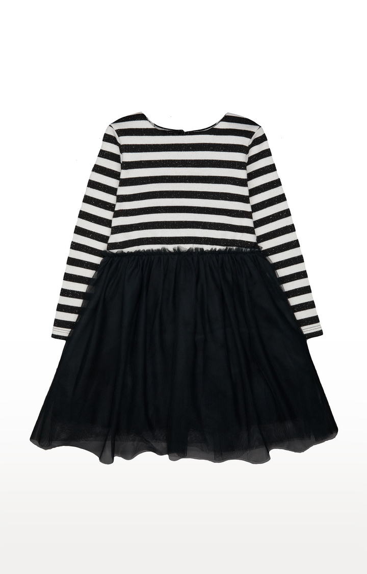 Mothercare | Black Striped Frocks