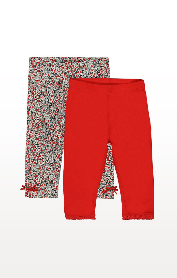 Mothercare | Heritage Floral Leggings - 2 Pack