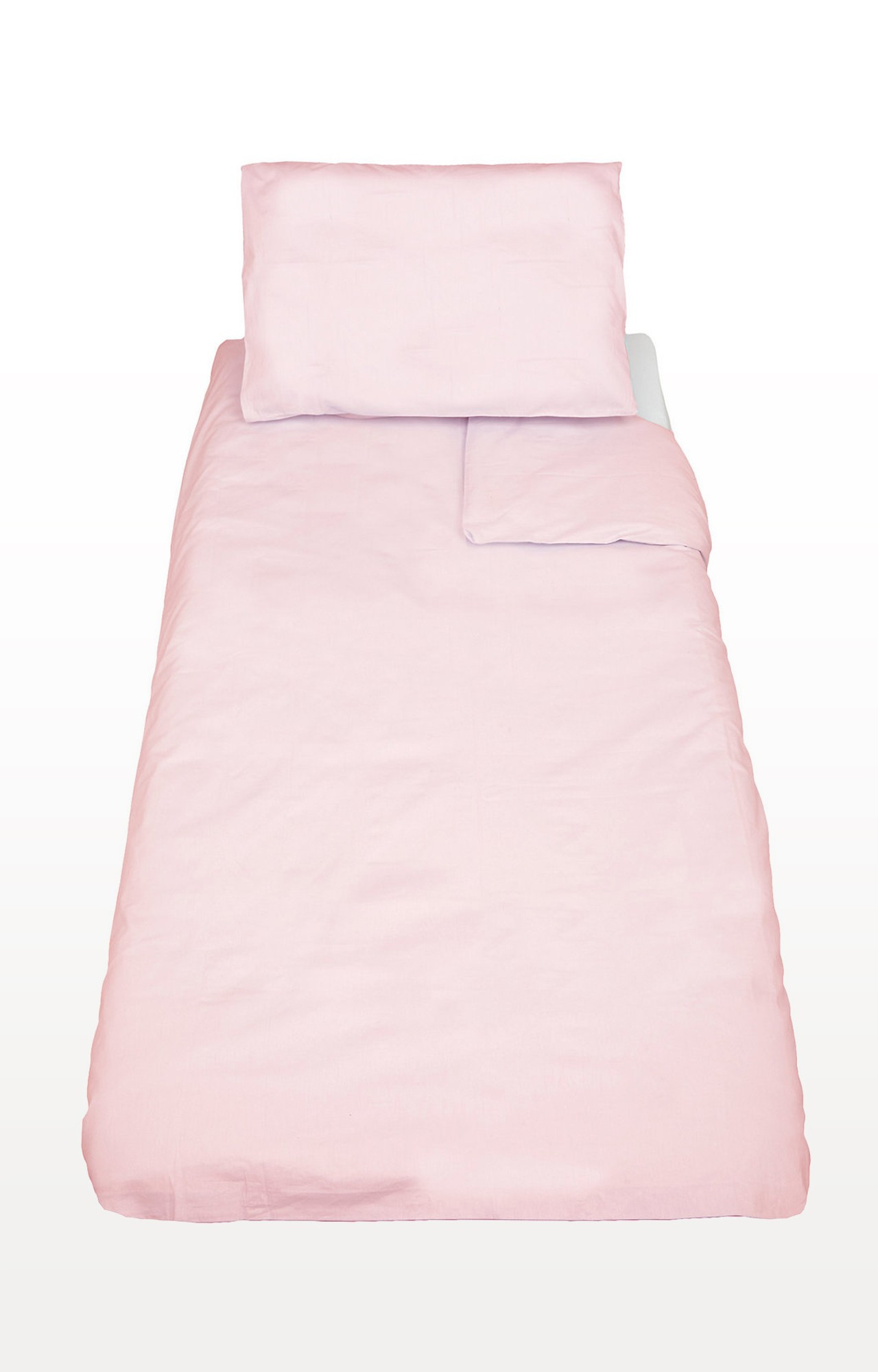 Mothercare | Pink Cotton-Rich Cot Bed Duvet And Pillowcase Set