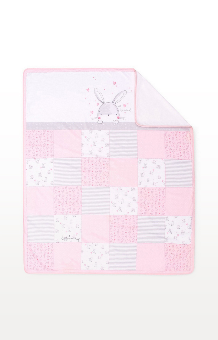 Mothercare | My First Bed In Bag - Pink Bunny