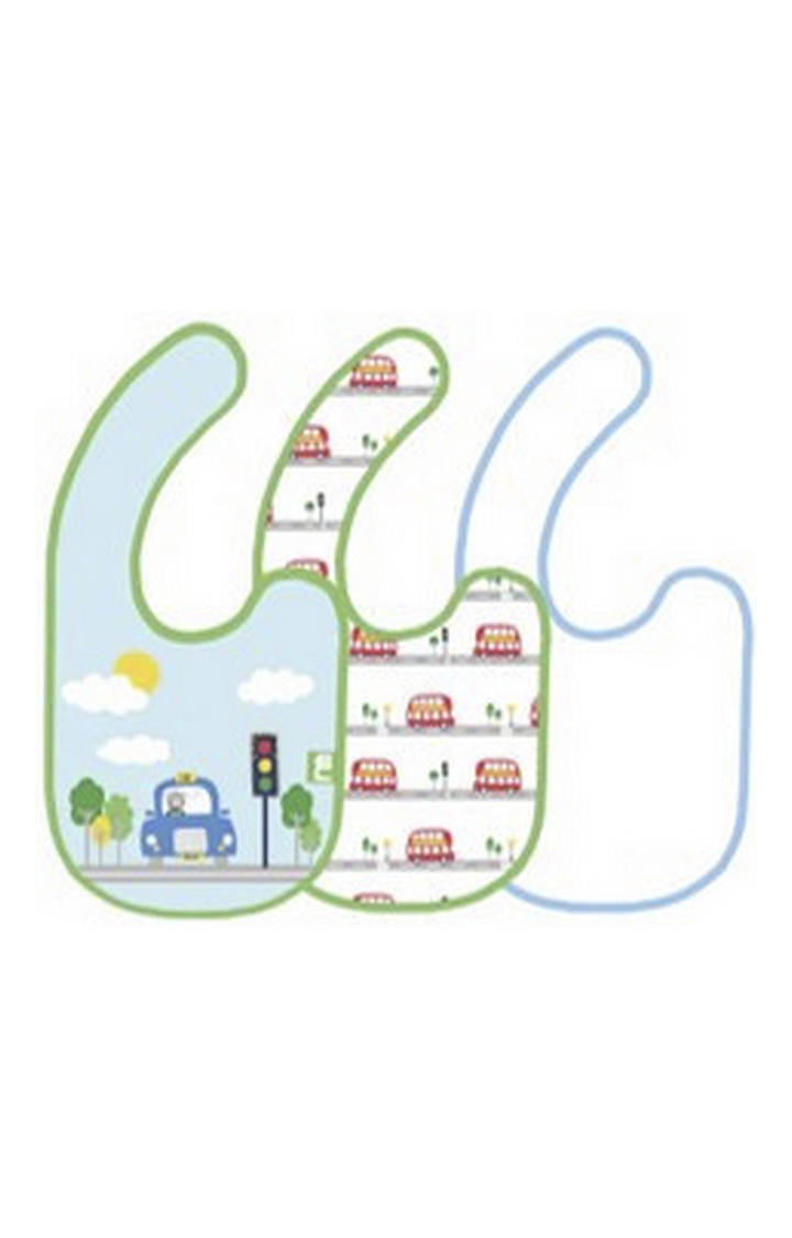 Mothercare | On The Road Bibs - Pack of 3