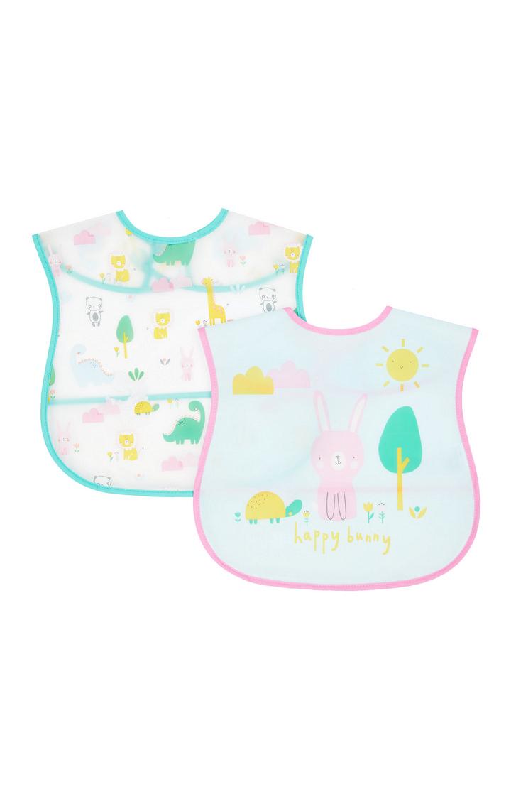 Mothercare   Bunny Crumb Catcher Bibs - Pack of 2