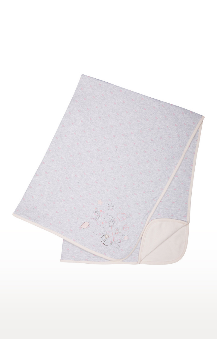 Mothercare | Grey Hooded Towel