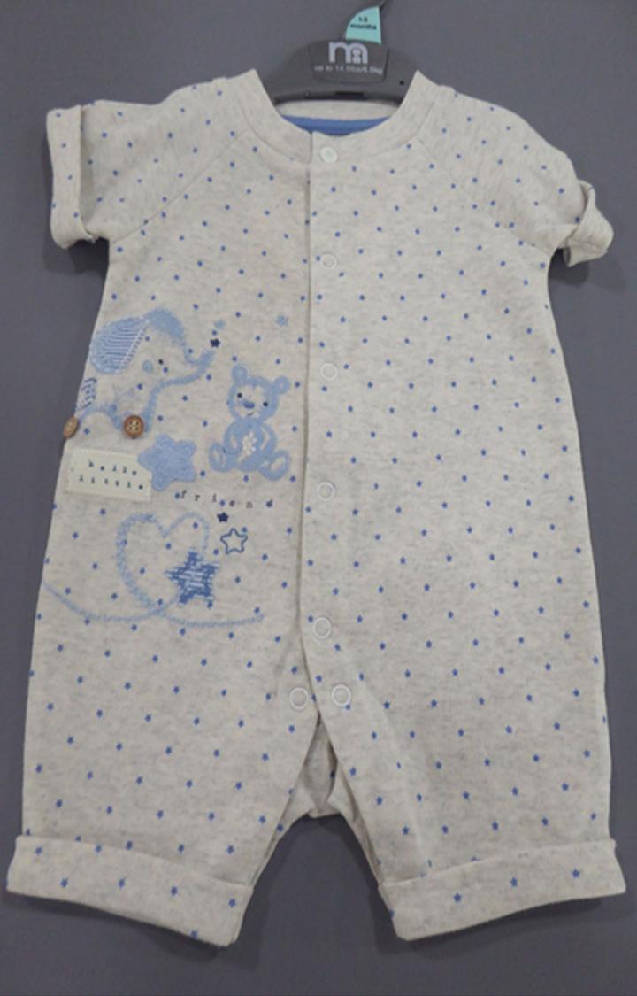 Mothercare | Grey Printed Romper