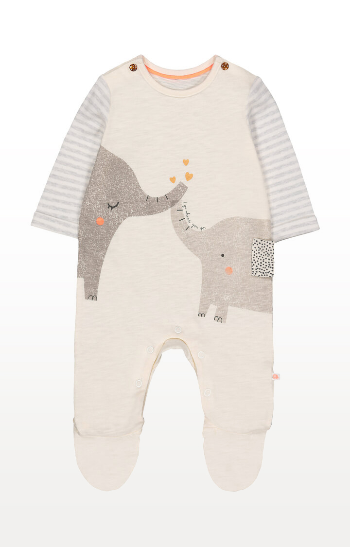 Mothercare | I Go Where You Go Elephant All In One