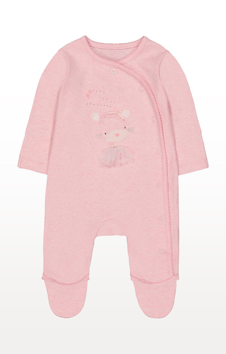 Mothercare | My First Pink Tiny and Precious Mouse Ballerina All In One