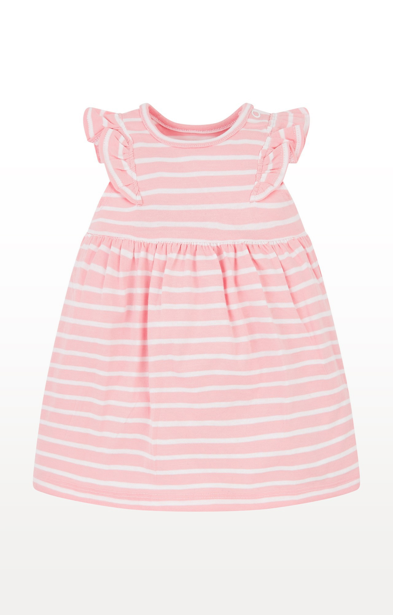 Mothercare | Pink Striped Dress