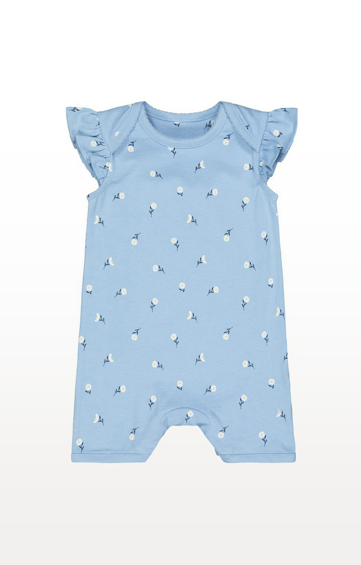 Mothercare | Blue Daisy Romper