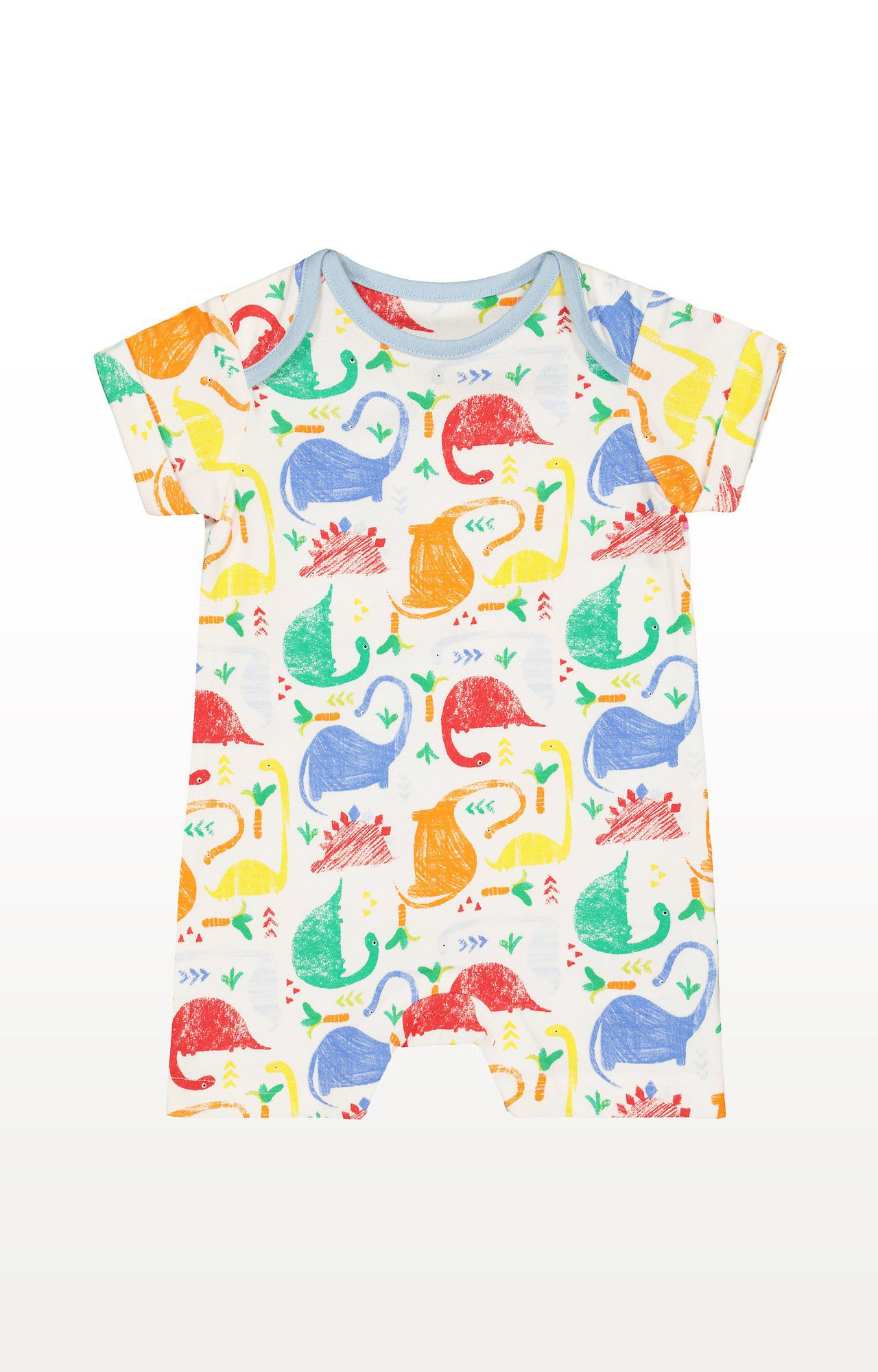Mothercare | Multicoloured Printed Dinosaur Romper