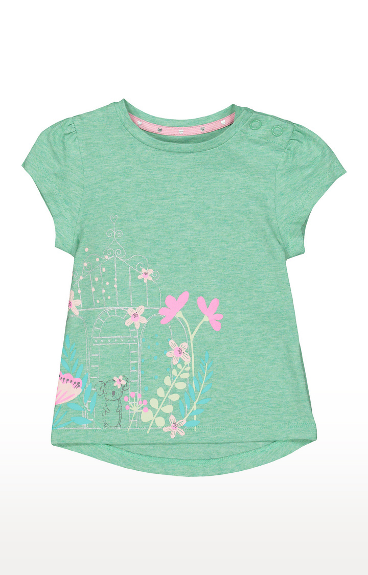 Mothercare | Green Printed Top