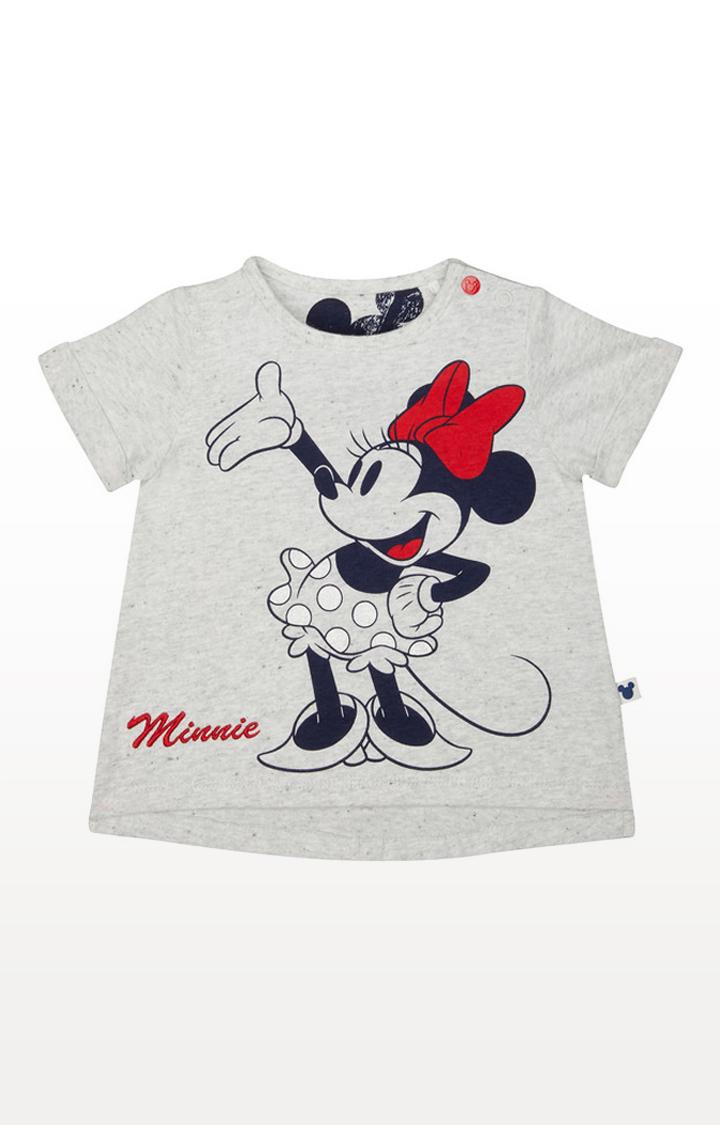 Mothercare | Disney Minnie Grey T-Shirt