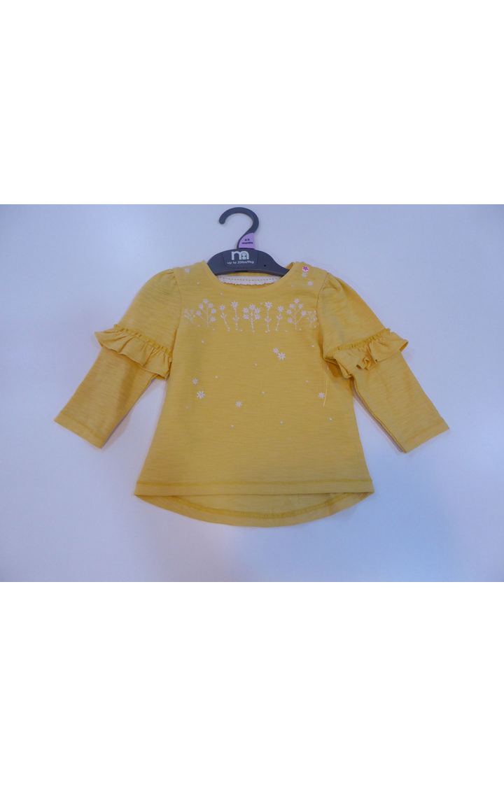 Mothercare | Yellow Printed Top