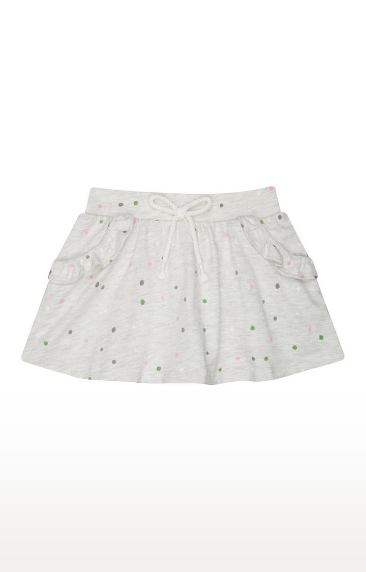 Mothercare | Grey Printed Skirt