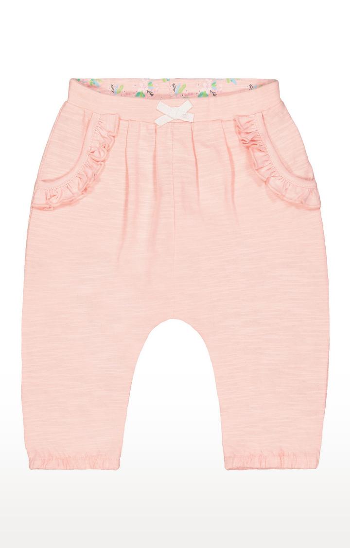 Mothercare | Peach Melange Joggers