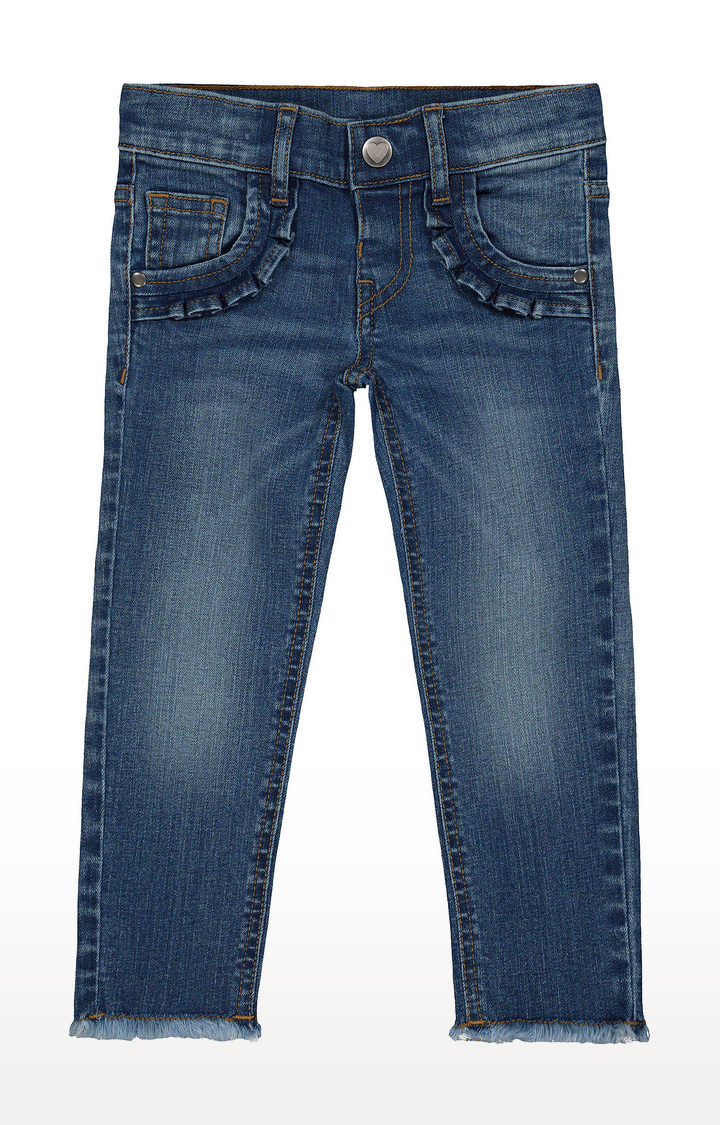 Mothercare | Blue Solid Jeans - Pack of 2