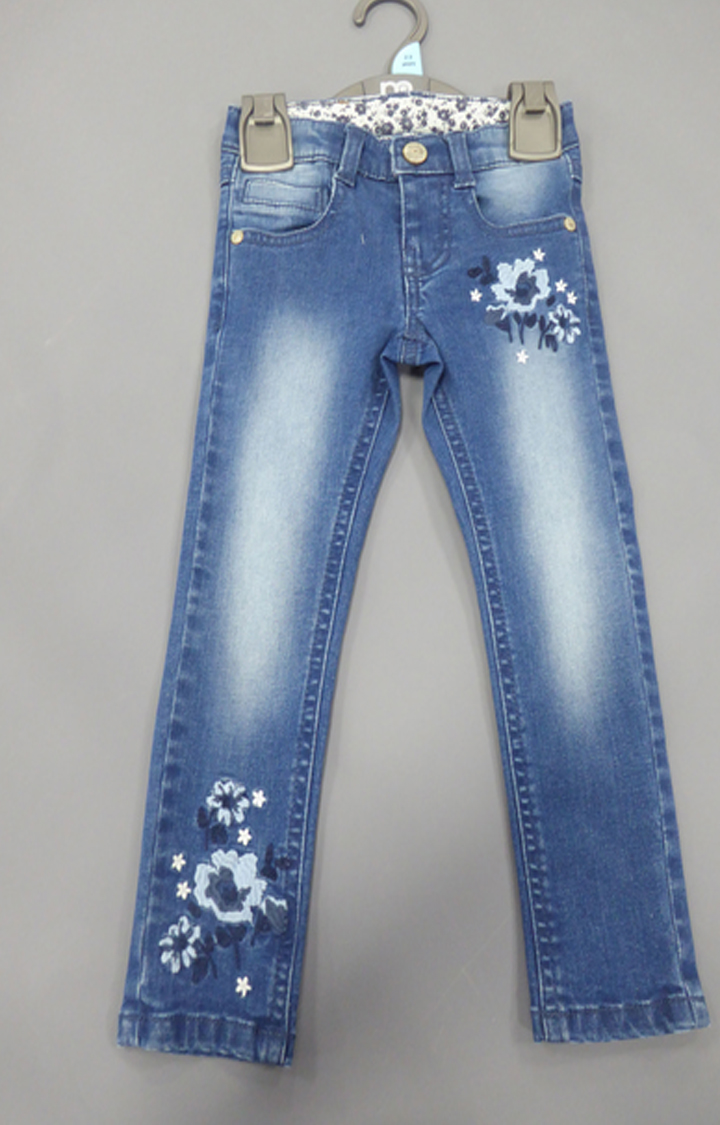 Mothercare | Blue Solid Jeans