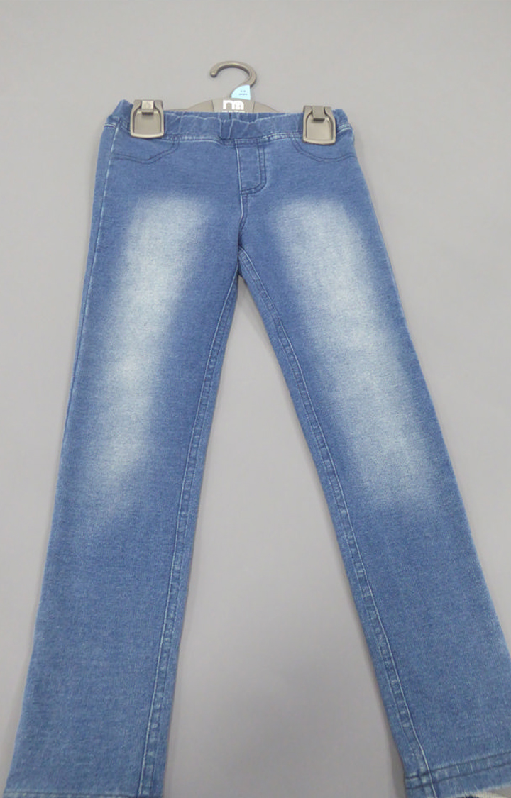Mothercare   Blue Solid Jeggings