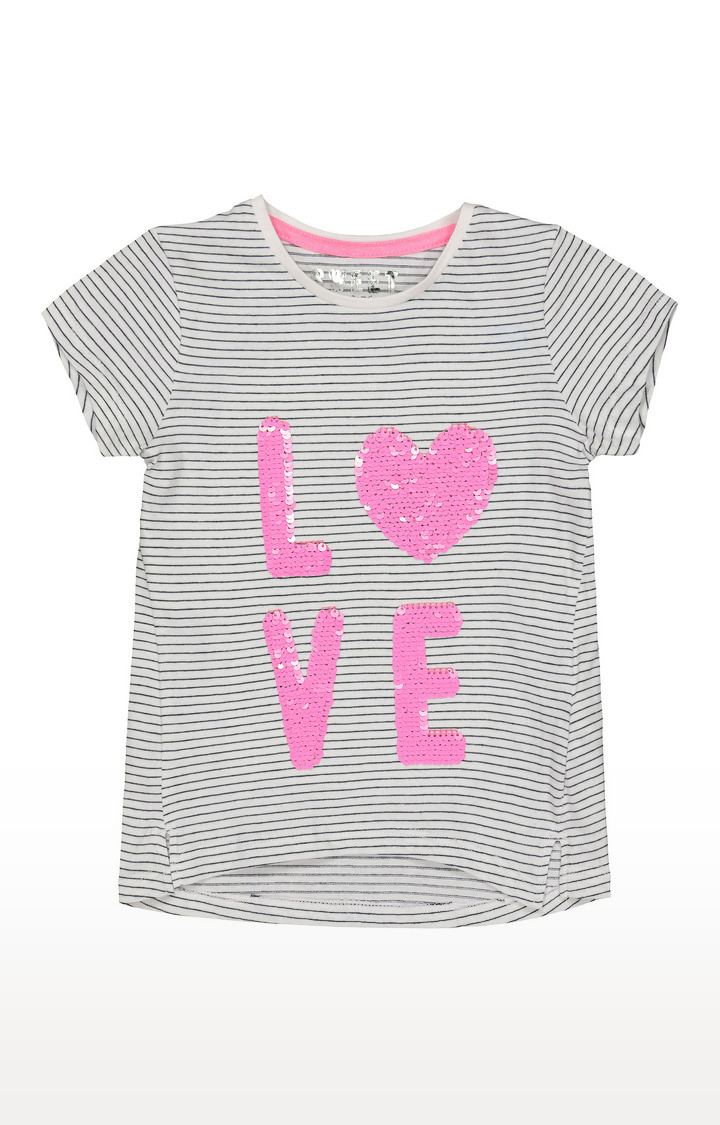Mothercare | Grey Striped Top