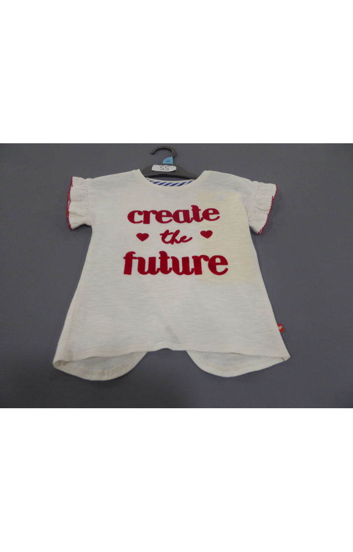 Mothercare | Cream Printed Top