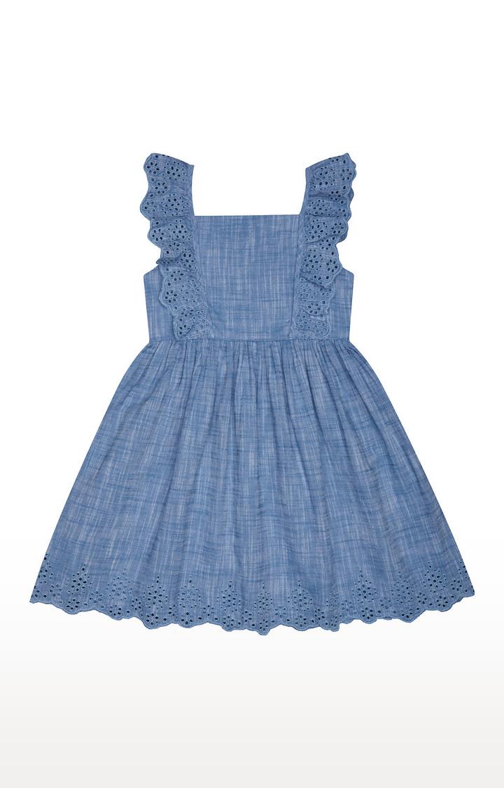 Mothercare | Blue Melange Dress