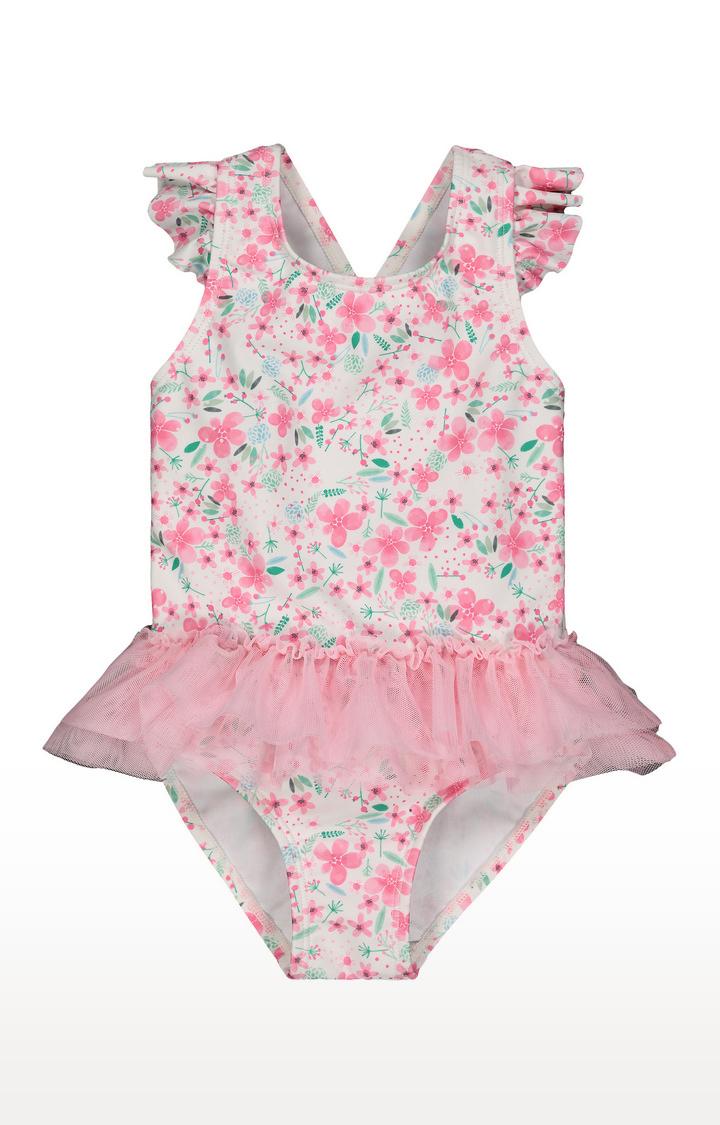 Mothercare | Pink Printed Swimwear