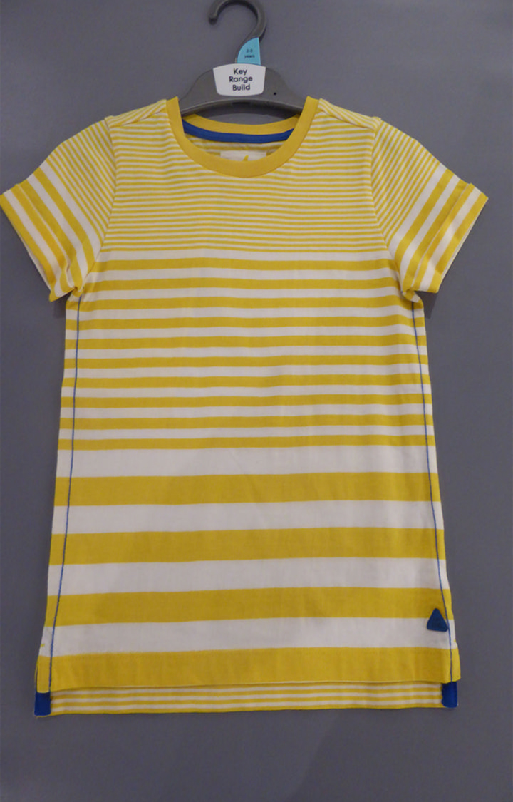 Mothercare | Yellow Striped T-Shirt