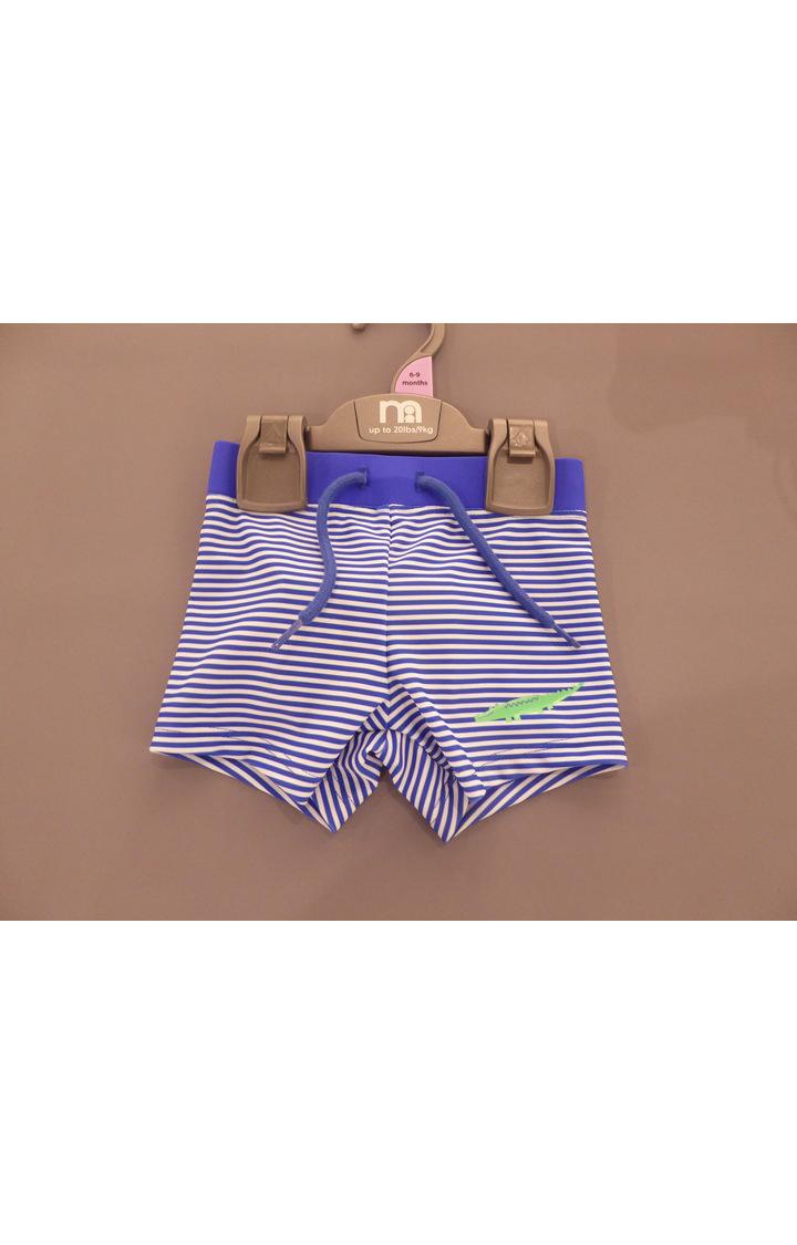 Mothercare | Blue Striped Beachwear Shorts