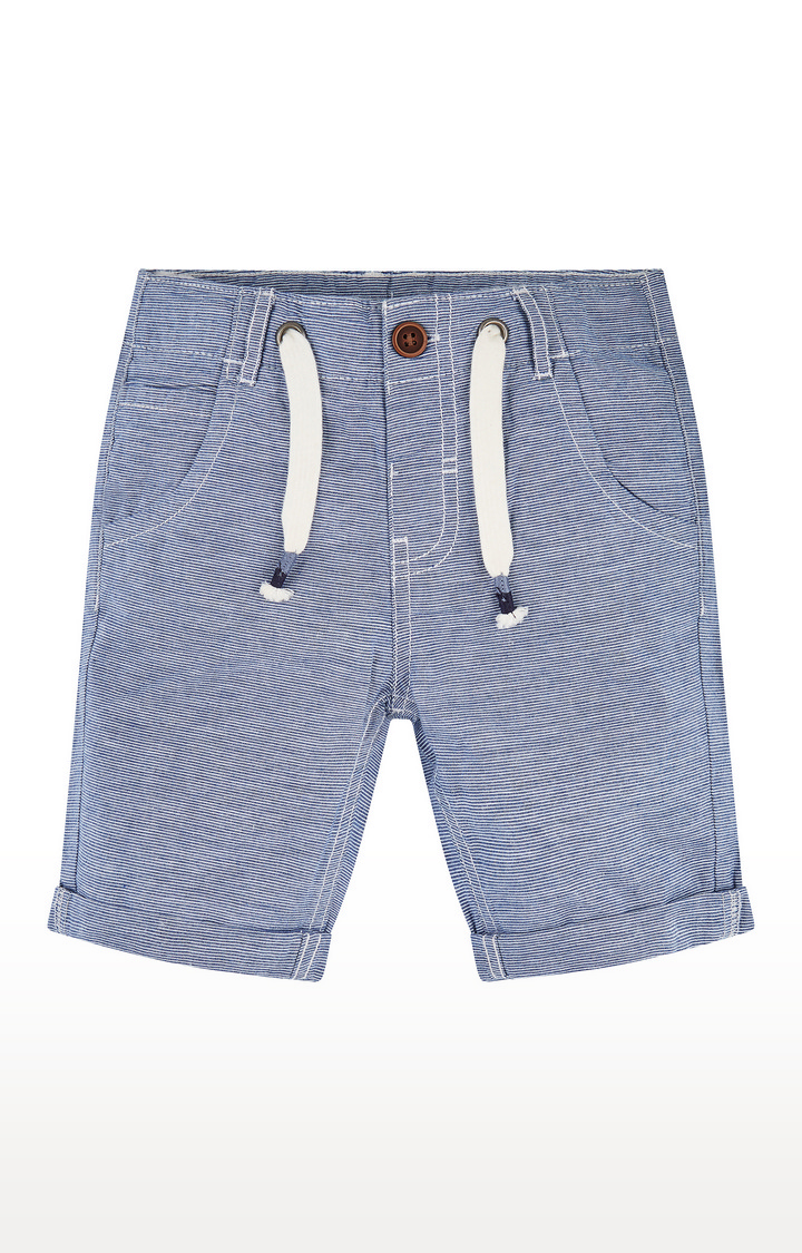 Mothercare | Blue Striped Shorts