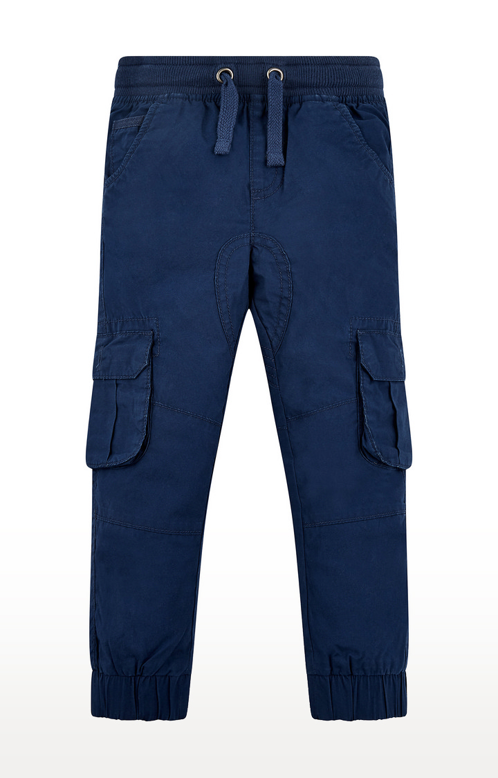 Mothercare | Navy Solid Joggers