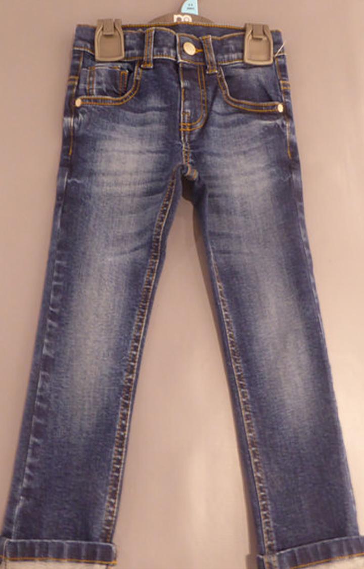 Mothercare   Blue Solid Jeans
