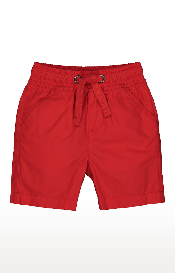 Mothercare   Red Solid Shorts