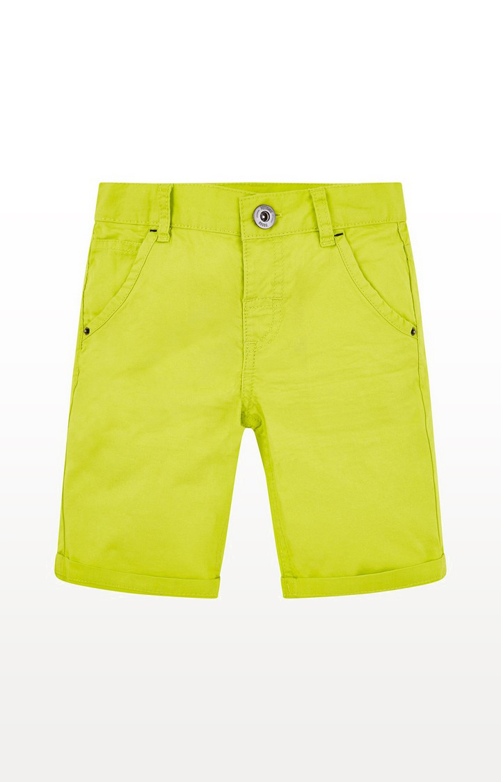 Mothercare | Yellow Twill Shorts