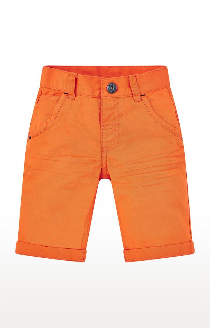 Mothercare | Orange Solid 3/4ths