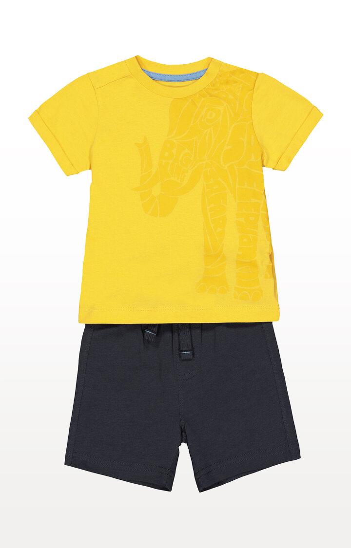 Mothercare | Elephant T-Shirt and Shorts Set