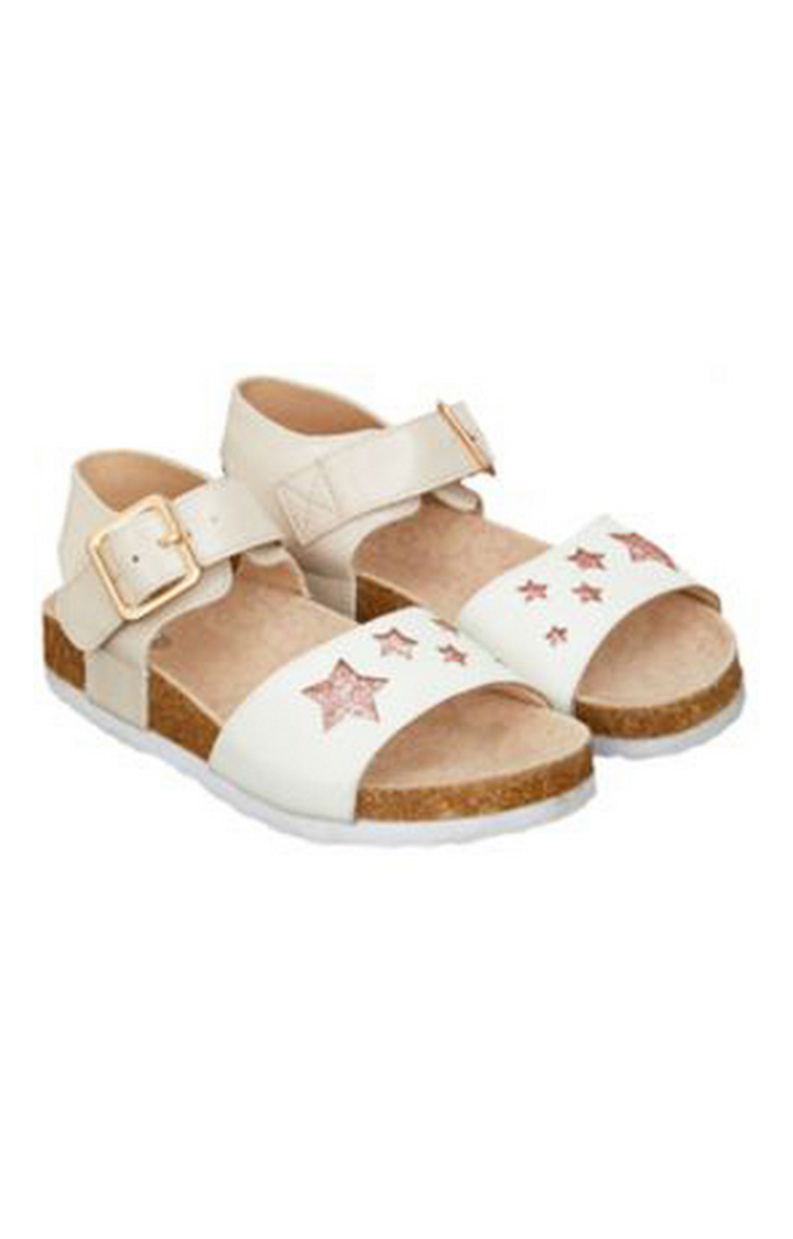 Mothercare   White Sandals